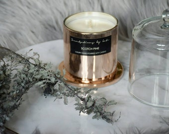 Luxury copper dome candles