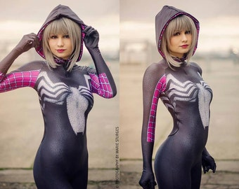 Gwenom Spiderman bodysuit