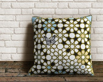 Butterfly Outdoor Throw Pillow