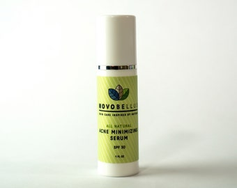 All Natural, Organic Acne Minimizing Serum