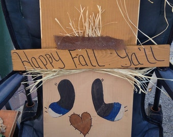 Primitive Scarecrow Wall Hanging
