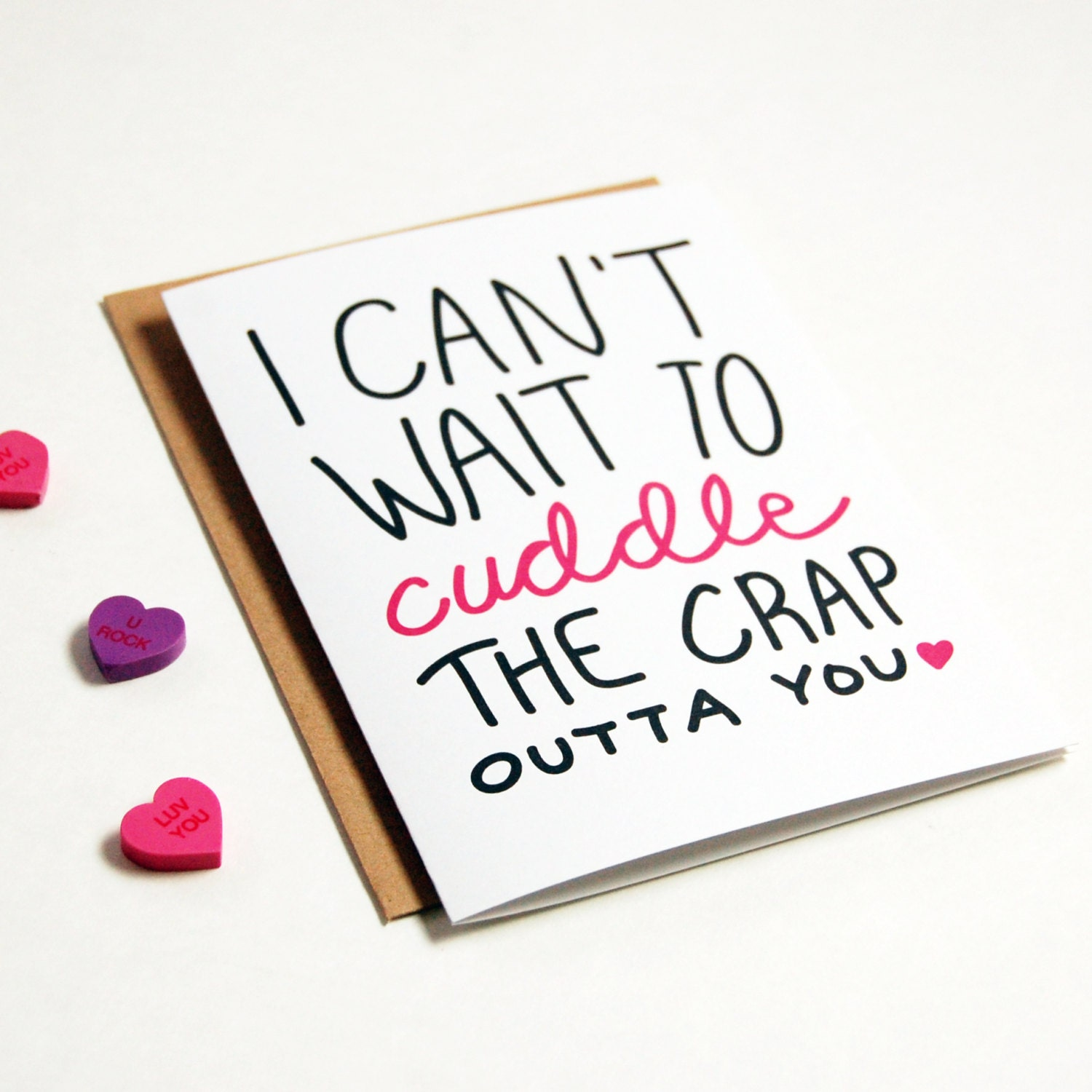Can I Cuddle With You: I Can't Wait To Cuddle You Greeting Card Boyfriend By