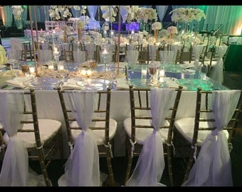 chair cover sash wedding decor baby shower chair cover bridal