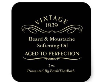 Pre Order Beard and Moustache Oil