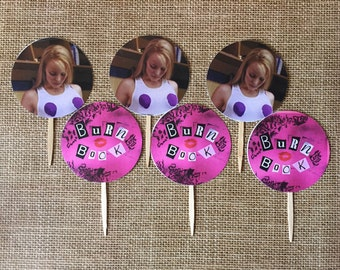 Mean Girls Cupcake Toppers