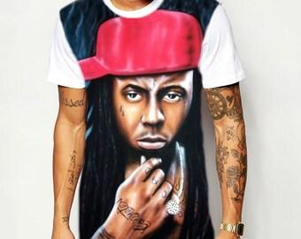 Lil Wayne Weezy Portrait T Shirt