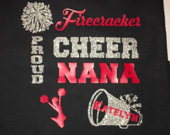 Cheer Mom, Nana, Aunt Shirt