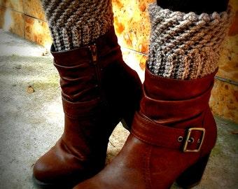 Boot Cuff Crochet Pattern - Crochet Pattern, Leg Warmers, Women Leg Accessories, Instant Download