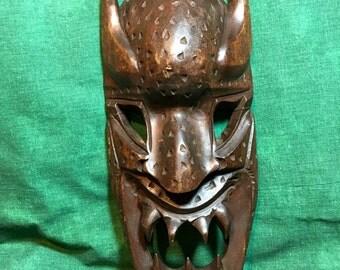 Vintage Wooden Tribal Mask