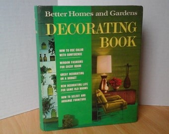 1968 Better Homes and Gardens Decorating Book, First Printing, Revised Edition