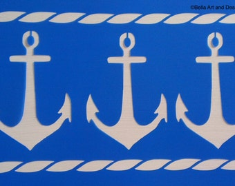 List 3 Nautical stencils *Free gift with every order*