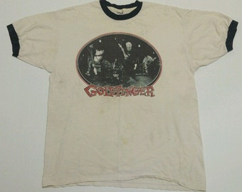 90s Vintage Goldfinger Punk Rock Band Graphic TSHIRT XL