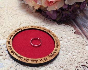 Bamboo Engraved Ring Dish