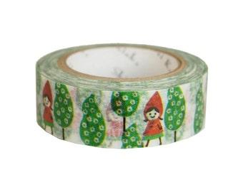 Shinzi Katoh washi tape / masking tape - Little Girl