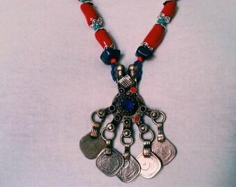 Necklace Necklace Afghan Ethnik woman