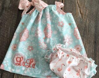Girls Pillowcase Dress , Baby Girl Pillowcase Dress , Baby Girl Easter Dress - Dress ONLY
