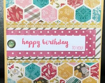 Set of 3 Birthday Cards-Happy Birthday to you/Happy Birthday/Oh Happy Day