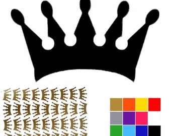 Crown Stickers Stationery Princess Queen Royal Crowns Small Craft Crown Stickers. Princess Crowns. Ships Worldwide. FREE UK SHIPPING.