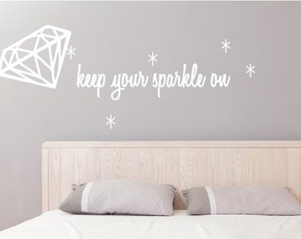 Keep Your Sparkle Wall Decal (1213-WALL)