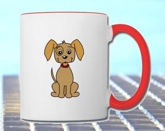 "Mug with dog ""Pauli"""
