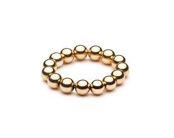 Ball closure rings Elastsich • Maxi • gold