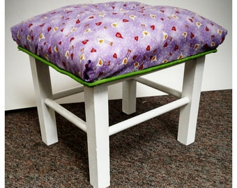 Funky Footstool- Local Pickup or Delivery