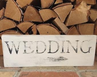 Shabby Chic Wedding Sign