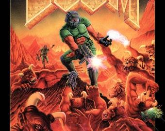 Doom Large A1 Poster