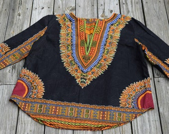 Men's Long Sleeve Dashiki