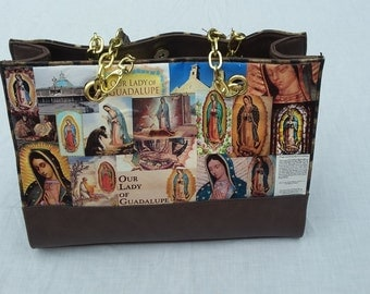 Our Lady of Guadalupe Large Handbag/Purse