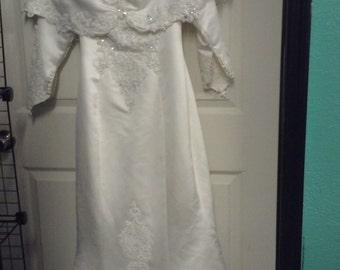 80'S Wedding Gown