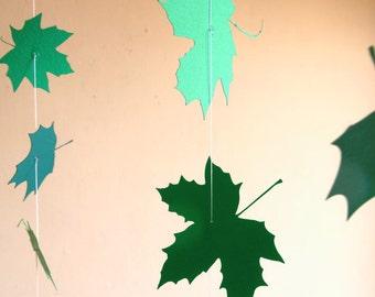 Hanging Mobile - Summer Leaves