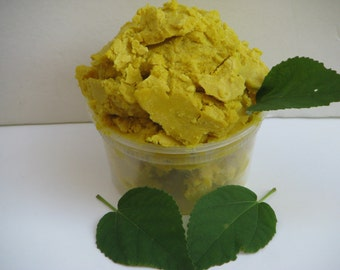 Unrefined Yellow Raw Shea Butter Organic Grade - A African Ghana