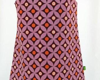 Funky retro pattern dress.