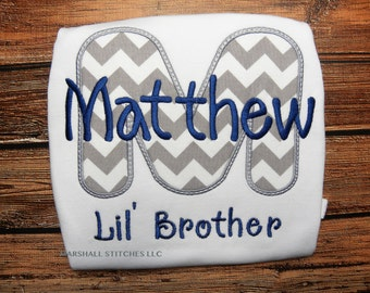 Lil Bro/ Little Brother Shirt/ Little Brother/ Sibling Shirt/