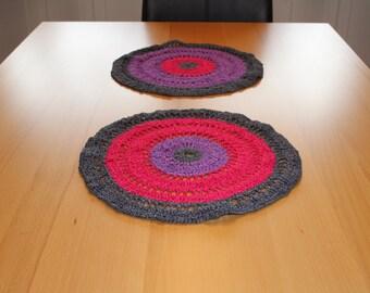 crochet Tischdeckchen crochet placemat