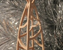 Scrollsaw Pattern: Christmas Tree Ornament