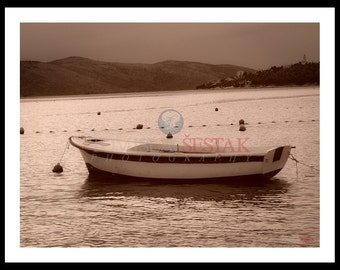 Photography print - boat