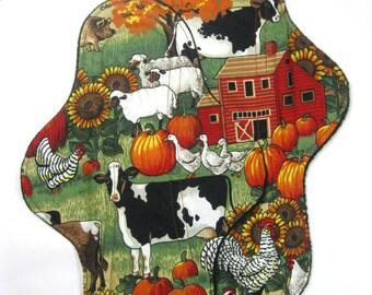 Farm Animals Cloth Pad, Farm Cloth Pad, custom cloth pad, reusable cloth pad
