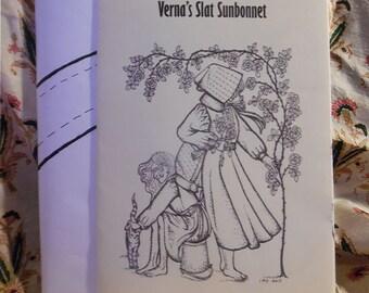 Verna's Slat Sunbonnet Pattern