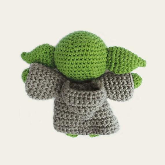 Jedi Master Yoda Amigurumi Pattern : Yoda - Star Wars. Amigurumi Pattern PDF, DIY, Crafts ...