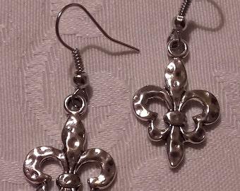 "Earrings ""Flor de lis"""