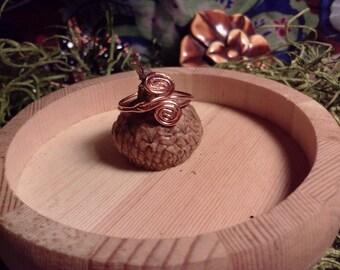 Delicate Copper Ring