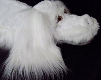 "Falcor The Luck Dragon The Neverending Story Plush 44"" long"