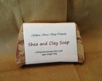Shea and Clay Soap