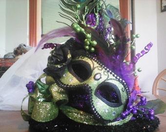 Mardigra Witch Hat