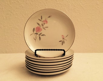 Lynnbrooke Fine China Set of 8 Dessert Plates