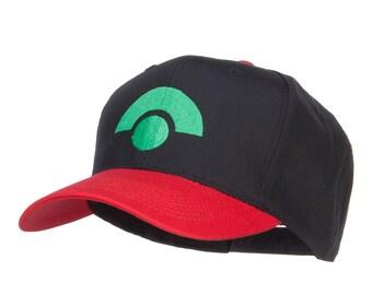 Ash Ketchum Advanced Generation Embroidered Cap