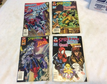1996 Marvel Comics Spider-Man (4) comics