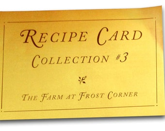 Recipe Card Collection #3